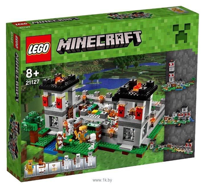 Фотографии LEGO Minecraft 21127 Крепость