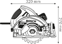 Bosch GKS 65 (0601667000)