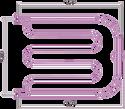 Сунержа Лира 500х650 +2 полки