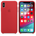 Apple Silicone Case для iPhone XS Max Red