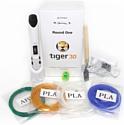 Tiger3D Round One (белый)