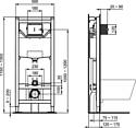 Ideal Standard Tesi AquaBlade T007901+T352701+R020467
