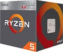 AMD Ryzen 5 2400G Raven Ridge (AM4, L3 4096Kb)