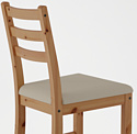 Ikea Лерхамн (морилка антик/виттарид бежевый) (303.609.20)