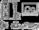 Lavinia Boho Relfix One Compacto 7 в 1 87050152 (черный пластик)