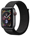 Apple Watch Series 4 GPS + Cellular 40mm Aluminum Case with Sport Loop