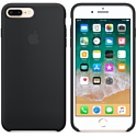 Apple Silicone Case для iPhone 8 Plus / 7 Plus Black