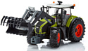 Bruder Claas Axion 950 with Frontloader 03013