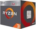 AMD Ryzen 3 2200G Raven Ridge (AM4, L3 4096Kb)
