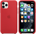Apple Silicone Case для iPhone 11 Pro Max (красный)
