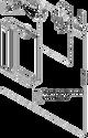 Triton Кристи-60 шкаф с зеркалом правый