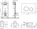 Lavinia Boho Relfix One Compacto 9 в 1 97010035 (белое стекло)