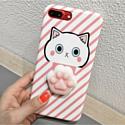 AnimaCase Anti-stress для Apple iPhone 6/6S (розовый кот)