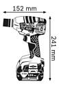 Bosch GDS 18 V-LI (06019A1S0C)