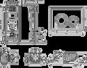 Lavinia Boho Relfix One Compacto 7 в 1 87050151 (матовый пластик)