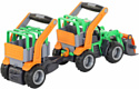 Полесье ГрипТрак трактор-погрузчик с полуприцепом для животных 48417