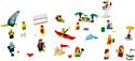 LEGO City 60153 Отдых на пляже - жители