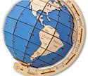 Eco-Wood-Art Глобус (голубой)