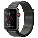 Apple Watch Series 3 Cellular 42mm Aluminum Case with Sport Loop