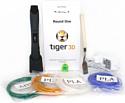 Tiger3D Round One (графит)