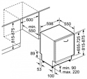 Bosch SMV 46MX04E