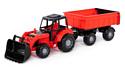 Полесье Мастер трактор с прицепом №1 и ковшом 35264