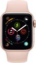 Apple Watch Series 4 40mm (алюминий золотистый/розовый песок)