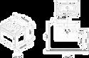 Ravak Тумба под умывальник 10° 550 (серый) (X000000734)