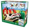 Brio Стартовый набор с поездом и управляющими тоннелями серия Smart Tech 33873