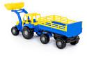Полесье Мастер трактор с прицепом №2 и ковшом 35288