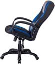 Бюрократ VIKING-9/BL+BLUE (черный/синий)