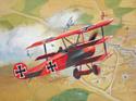 Revell 04116 Немецкий самолет Fokker Dr.1 Triplane