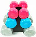 Atlas Sport Fitnes Composit 12 кг с подставкой (2x1кг+2x2кг+2x3кг)
