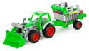 Полесье Фермер-техник трактор-погрузчик с полуприцепом №2 46505