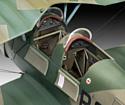 Revell 03886 Немецкий учебный самолет Bucker Bu131 Jungmann