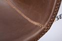 Седия Mexico барный (искусственная кожа, коричневый/коричневая нить)