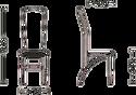 Nowy Styl Amely chrome EV 12