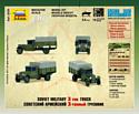 "Звезда Советский армейский 3-тонный грузовик ""ЗИС-5"""
