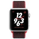 Apple Watch Series 3 Cellular 38mm Aluminum Case with Nike Sport Loop
