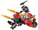Qman Powersquad 3401-3 Огненный мотоцикл