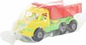 Полесье Буран №1 автомобиль-самосвал (жёлто-красный) 43627