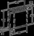 Roca Victoria Nord зеркальный шкаф черный (ZRU9000100)