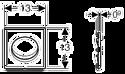 Geberit Sigma 01 HyTronic 116.031.21.5