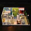 Hobby Day DIY Mini House Квартирный вопрос (M043)