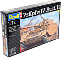 Revell 03184 Немецкий средний танк PzKpfw. IV Ausf.H