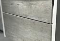 Roca Тумба Ronda 60 ZRU9303002 с умывальником Gap 60 (бетон/белый)
