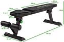 Tunturi Flat Bench FB80