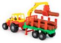 Полесье Мастер трактор с полуприцепом-лесовозом 35295