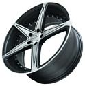 Sakura Wheels 3249 6.5x15/5x114.3 D73.1 ET38 Темно-серый с полировкой