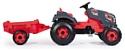 Smoby Трактор педальный XXL с прицепом
